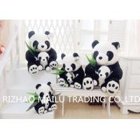 China Panda Mother And Baby PP Cotton Filled Kids Stuffed Toys With Safety EN71 Standards on sale