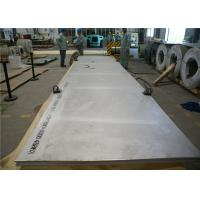 Buy cheap 4mm - 100mm Thickness UNS S31254 Plate , 254 Smo Plate Sheet Strip product