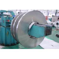 Buy cheap 201 / 410 BA Stainless Cold Rolled Steel Strip With Slit Edge , PVC Coated product