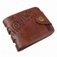 Wholesale Men's Wallet, Made of Genuine Cow Leather, Fashionable Style, Practical Inner Construction from china suppliers