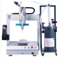 Buy cheap Desktop Silicone Dispensing Machine PLC Control  For Small PCB Electronics from wholesalers
