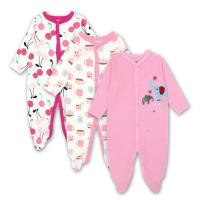 Buy cheap Warm Portable Unisex Baby Sleepsuits Newborn Baby Clothes Cute Baby Romper from wholesalers