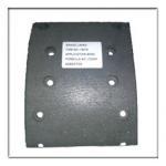 Buy cheap truck brake lining,drum liner WVA19579/80 from wholesalers