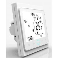Buy cheap Fireproof Shell Fan Coil Unit Thermostat , LCD Digital Fan Coil Thermostat from wholesalers