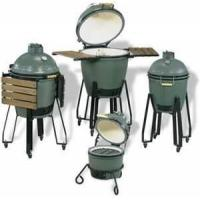 Buy cheap heatproof ,non-toxic Ceramic kamado bbq pizza Oven green egg large grill for bbq from wholesalers