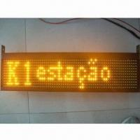 LED Bus Board with GPS and 12 to 24V Input Voltage Manufactures