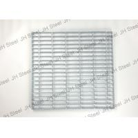 Buy cheap Light Structure Serrated Metal Grating Galvanized Steel Panels Anti Corrosion from wholesalers