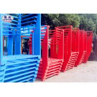 Buy cheap Powder Coated Steel Stacking Racks , Warehouse Stackable Pallet Racks For Wheat from wholesalers