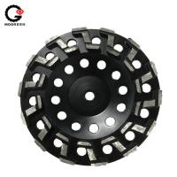 Buy cheap 7 Diamond grinding cup wheels for shaping of marble and granite surface from wholesalers