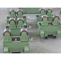 Auto Pipe Welding Rotator 5t With Rubber Wheel Have Two Motors Drive Pipe Rolling Manufactures