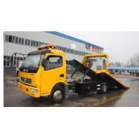 China dongfeng 4X2 road tow truck, Conjoined wrecker truck for sale on sale