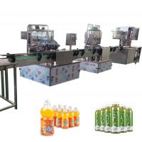 Buy cheap Juice Filling And Bottling Machine 2000BPH Capacity from wholesalers