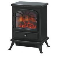 Buy cheap electric fireplace heater ND-180M Metal housing antique stove cheap space heater indoor heater two door option from wholesalers
