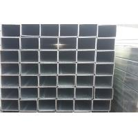 Buy cheap Q195 Zinc Galvanized Square Steel Tubing For Structural Pipe DIN1626 GB6728-2002 from wholesalers