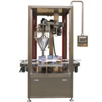 Buy cheap Protein/coffee/whey/milk powder filling machine for can tins sus304 stainless steel from wholesalers
