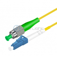 Buy cheap Communication Test Equipment FC To LC 9/125um Fiber Optic Patch Cord from wholesalers