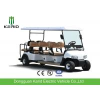 Buy cheap Wholesale Price 8 Persons Electric Golf Carts Street Legal With Deep Cup Holders from wholesalers