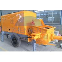 Wholesale 50m3 / H Mobile Electric Concrete Pump Construction Equipment For CLC Blocks from china suppliers