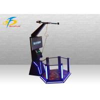 Buy cheap Shooting Game Mini HTC Standing Platform 9D VR Simulator Support Coin System from wholesalers
