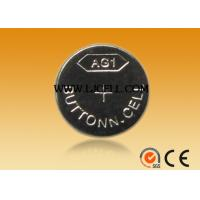 Buy cheap 1.5V alkaline button cell battery AG1 high quality 13mAH bateery LR621 from wholesalers
