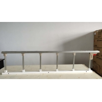 Buy cheap Six Pole Aluminum Alloy Side Rail Hospital Bed Guard Rails Collapsible from wholesalers
