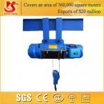 Buy cheap electric crane hoist 220v/230v small hoist from wholesalers