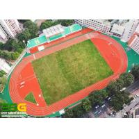 Buy cheap Construction project case - 400m standard prefabricated roll running track - school from wholesalers