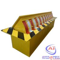 Heavy Duty Fully Automatic Security Road Blocker IP54 Steel Vehicle Barriers Security Manufactures