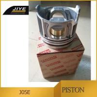 Wholesale hino j05e engine parts japanes cylinder piston for J05E J08E truck engine parts from china suppliers