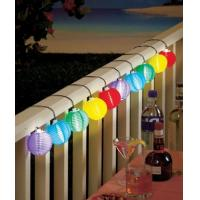 Buy cheap 3m Color Solar Mini Lanterns String Lights - Cool White Solar Powered 10LED colorful hanging decoration from wholesalers