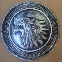 Buy cheap Full Scale Medieval Shields , Stark Infantry Resin Shield For Home Decor from wholesalers
