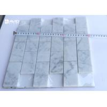 Buy cheap Mosaic Carrara Marble Floor And Wall Tiles 18pcs Sheet Corrosion Resistance from wholesalers
