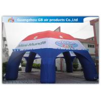 Buy cheap Multicolor Spider Advertising / Exhibition Inflatable Air Tent Trade Show Booths Leisure Tent from wholesalers