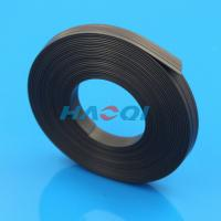 Quality adhesive rubber strong thin magnetic strips for sale