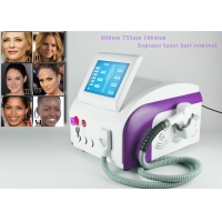 Buy cheap Permanent 1200W 808nm Laser Hair Removal Equipment from wholesalers