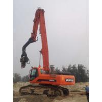 Buy cheap Accurate Excavator Mounted Pile Driver 2600kg Hammer Weight Stable Performance from wholesalers