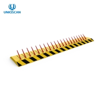 Buy cheap Remote Control Roadblock AC220V Tyre Spike Barrier Traffic Spike Tire Killer from wholesalers