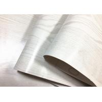 Buy cheap White Fashionable Wood Grain Adhesive Contact Paper Home Decoration from wholesalers