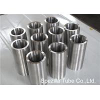 China ASME SB338 Grade 7 Seamless Round Titanium Pipe Welding for Condensers / Heat Exchangers on sale