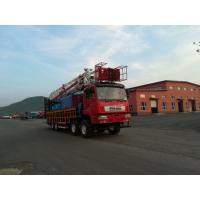 Multifunctional Oilfield Vehicles Flushby Rig For Well Flushing / Sand Washing Workover serices Well repairing Manufactures