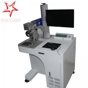 High Precision Metal Marking Machine, PVC Pipe Fiber Laser Marking System
