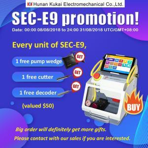 Buy cheap 2018 Hot Selling SEC-E9 Key Cutting Machine/Silca Key Cutting Machines from wholesalers