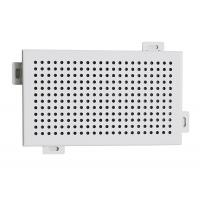 Buy cheap Decorative Perforated Aluminum Wall Panels DIA 4 mm Punch Holes from wholesalers