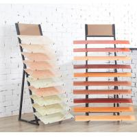 Buy cheap 2 Sides Delicate Floor Tile Display Rack Stand 10 Pieces Acid Resistance from wholesalers