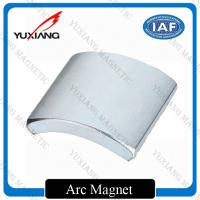 Buy cheap Rare Earth N38 Neodymium Arc Magnets Sintererd NdFeB Durable For Motor from wholesalers