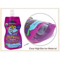 Buy cheap custom Made BPA Free Refillable Baby Food Pouches Reusable Spout Doypack from wholesalers