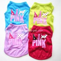 Wholesale cheap price China wholesale summer cool pet Tshirt, new princess dog clothing from china suppliers