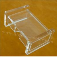 Buy cheap Engraved Logo Acrylic Name Card Holder Case from wholesalers