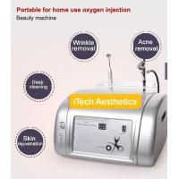 Buy cheap 2 In 1 Portable Oxygen Facial Machine Salon Use Jet Peel Beauty Machine 99% Pure Oxygen For Acne Removal from wholesalers