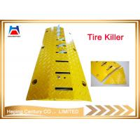 China Tire killer for tyre, durable one-way speed hump road spikes speed breaker on sale